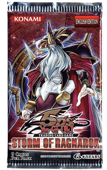YuGiOh Trading Card Game Storm of Ragnarok Booster Pack [9 Cards]