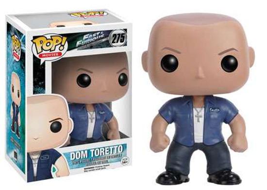 Funko Fast & Furious POP! Movies Dom Toretto Vinyl Figure #275