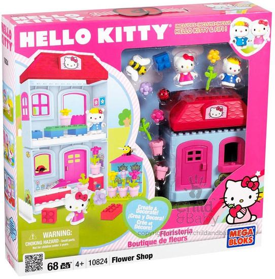 Mega Bloks Hello Kitty Flower Shop Set #10824