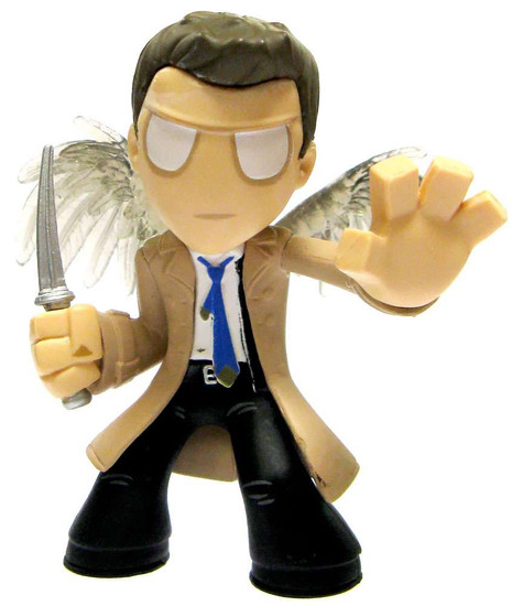 Funko Supernatural Mystery Minis Series 1 Castiel 2-Inch 1/12 Common Mystery Minifigure [Loose]