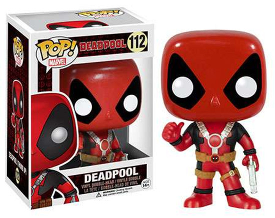 Funko POP! Marvel Deadpool Vinyl Bobble Head #112 [Thumbs Up]