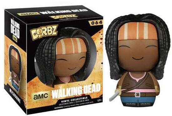 Funko The Walking Dead AMC TV Dorbz Michonne Vinyl Figure #64