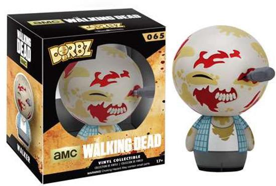 Funko The Walking Dead AMC TV Dorbz Walker Vinyl Figure #65