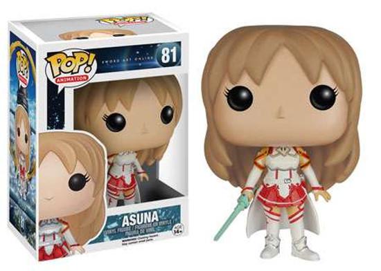Funko Sword Art Online POP! Anime Asuna Vinyl Figure #81
