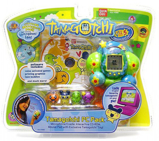 Tamagotchi Connection Version 4.5 PC Pack Kit Exclusive Virtual Pet