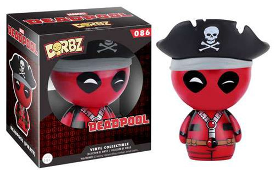 Funko Marvel Dorbz Pirate Deadpool Vinyl Figure #086