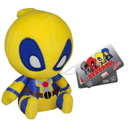Funko Marvel Mopeez Yellow Deadpool Plush