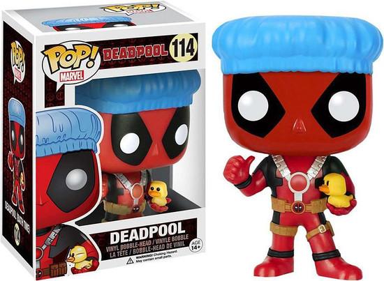 Funko POP! Marvel Deadpool Exclusive Vinyl Bobble Head #114 [Bath Time]