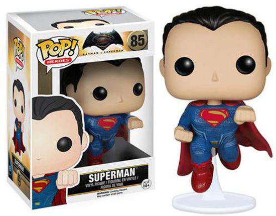 Funko DC Batman v Superman: Dawn of Justice POP! Movies Superman Vinyl Figure #85 [Dawn of Justice]