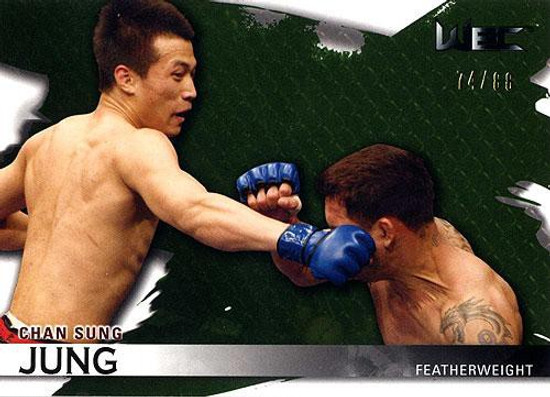 Topps UFC 2010 Knockout Parallel Chan Sung Jung #116