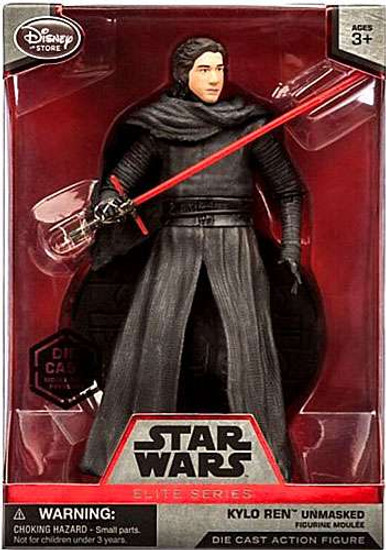 Disney Star Wars The Force Awakens Elite Kylo Ren Exclusive 7.5-Inch Diecast Figure [Mask OFF]