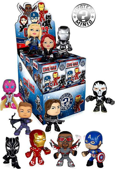 Funko Marvel Mystery Minis Civil War Mystery Box [12 Packs]