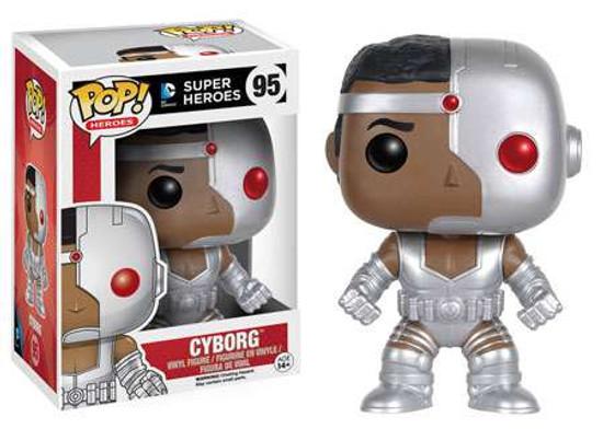 Funko DC Comics POP! Heroes Cyborg Vinyl Figure #95