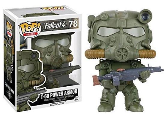 Funko Fallout 4 POP! Games T-60 Power Armor Exclusive Vinyl Figure #78 [Green]