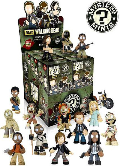 Funko The Walking Dead Mystery Minis Walking Dead Series 4 Mystery Box [12 Packs]