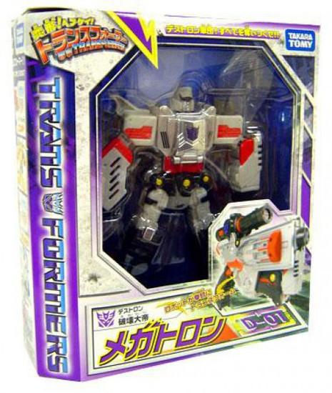 Transformers Japanese Classics Henkei Voyager Megatron Voyager Action Figure Set D-01