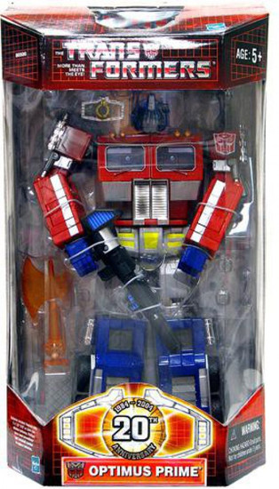 Transformers 20th Anniversary Classics Battle-Damaged Optimus Prime Action Figure