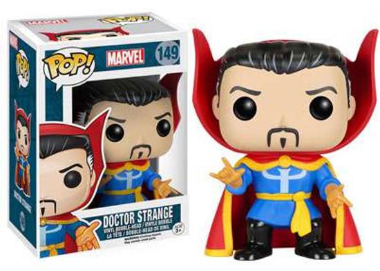Funko POP! Marvel Doctor Strange Vinyl Bobble Head #149 [Classic]