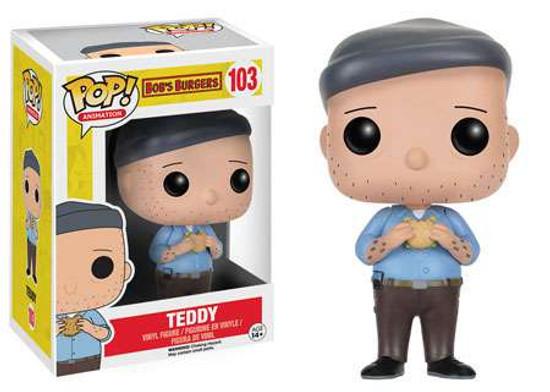 Funko Bob's Burgers POP! Animation Teddy Vinyl Figure #103