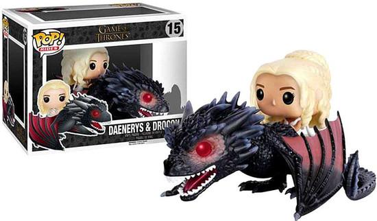 Funko Game of Thrones POP! Rides Daenerys & Drogon Vinyl Figure #15