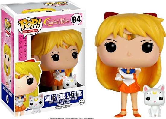Funko Sailor Moon POP! Animation Sailor Venus & Artemis Vinyl Figure #94