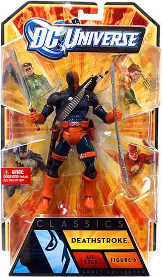 DC Universe All-Stars Classics Deathstroke Action Figure #6