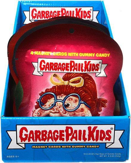 Garbage Pail Kids Topps 2012 Trading Card MAGNET Box [18 Packs]