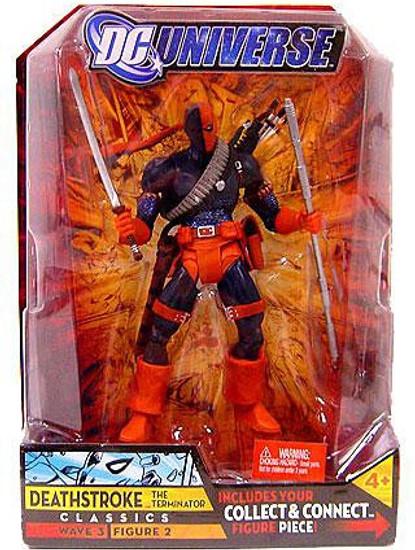 DC Universe Classics Wave 3 Build Solomon Grundy Deathstroke the Terminator Action Figure #2 [Masked]