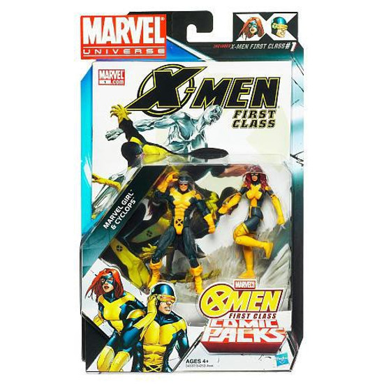 Marvel Universe Cyclops & Marvel Girl Action Figure 2-Pack