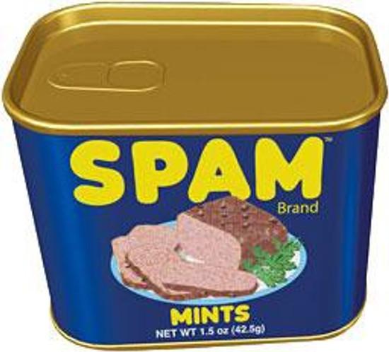 SPAM Mints Candy Tin
