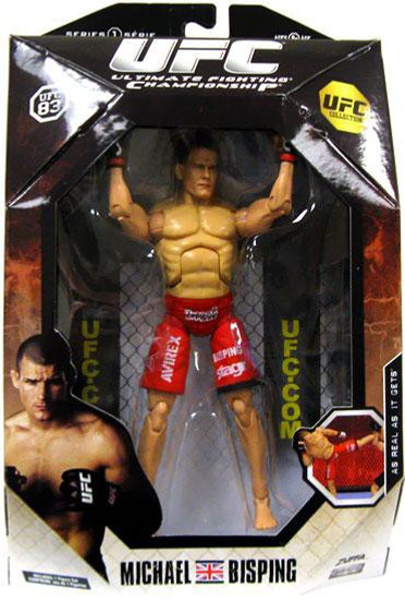 UFC Collection Series 1 Michael Bisping Action Figure [UFC 83]