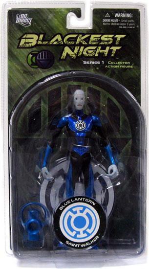 DC Green Lantern Blackest Night Series 1 Blue Lantern Saint Walker Action Figure