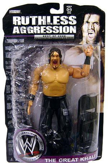 WWE Wrestling Ruthless Aggression Best of 2008 Series 2 The Great Khali Action Figure