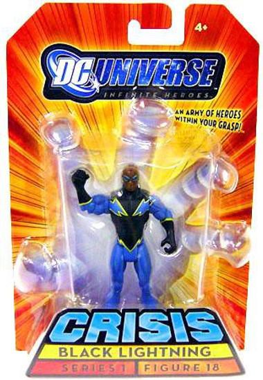 DC Universe Crisis Infinite Heroes Series 1 Black Lightning Action Figure #18