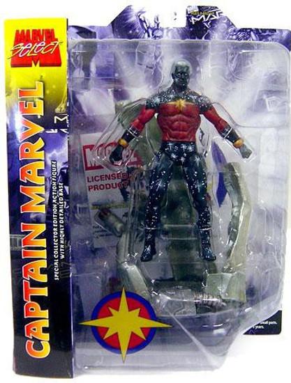 Marvel Select Captain Marvel Action Figure [Genis-Vell]