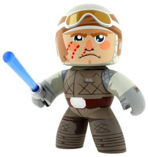 Star Wars The Empire Strikes Back Mighty Muggs 2009 Wave 2 Luke Skywalker Vinyl Figure [Hoth Gear]