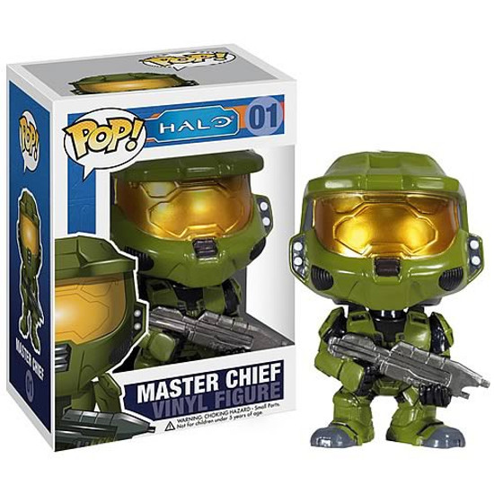 Funko Halo Universe POP! Halo Master Chief Vinyl Figure #01 [Light Green Armor]