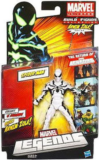 Marvel Legends Arnim Zola Series Spider-Man Action Figure [White Suit Variant]