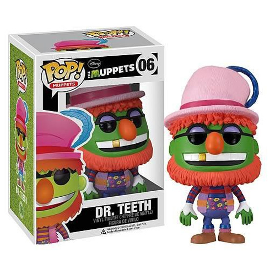 Funko The Muppets POP! TV Dr. Teeth Vinyl Figure #06