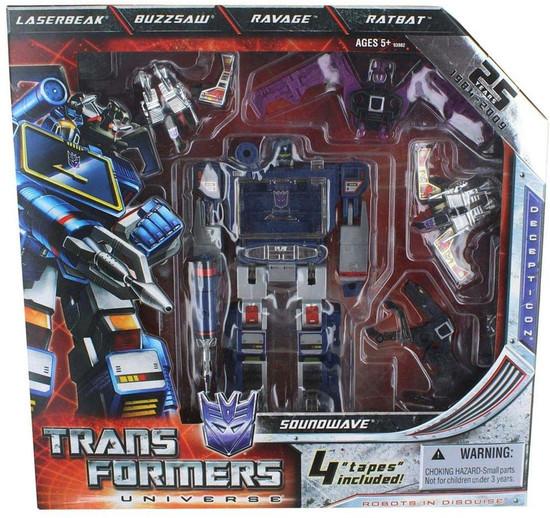 Transformers Universe 25th Anniversary Soundwave Exclusive Action Figure