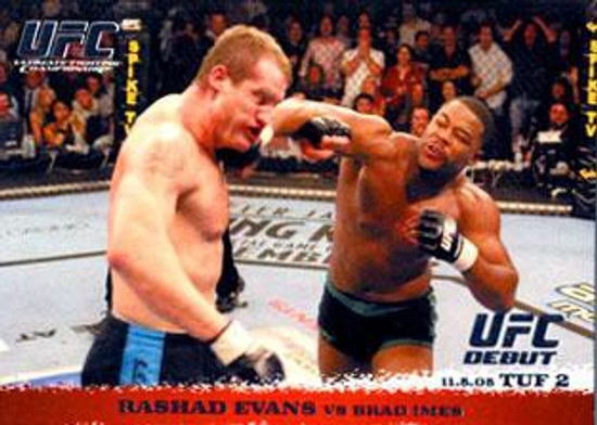 Topps UFC 2009 Round 1 Rashad Evans #31
