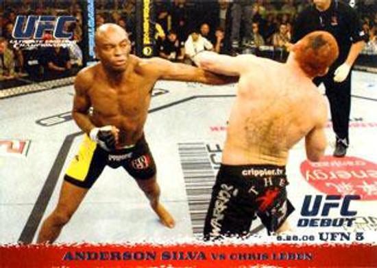 Topps UFC 2009 Round 1 Anderson Silva #46