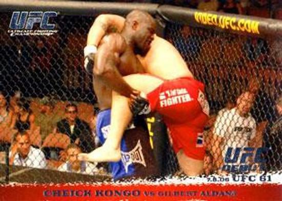 Topps UFC 2009 Round 1 Cheick Kongo #47