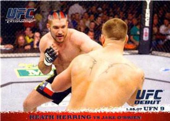 Topps UFC 2009 Round 1 Heath Herring #57