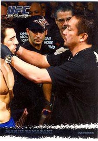 Topps UFC 2009 Round 1 Mario Yamasaki #93