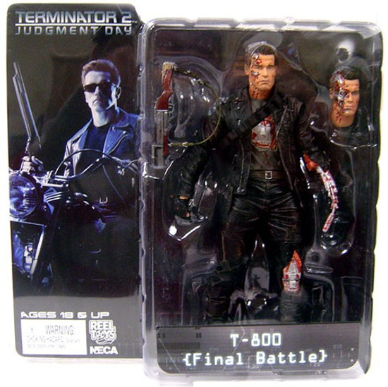 NECA Terminator 2 Judgment Day Series 2 T-800 Action Figure [Final Battle]