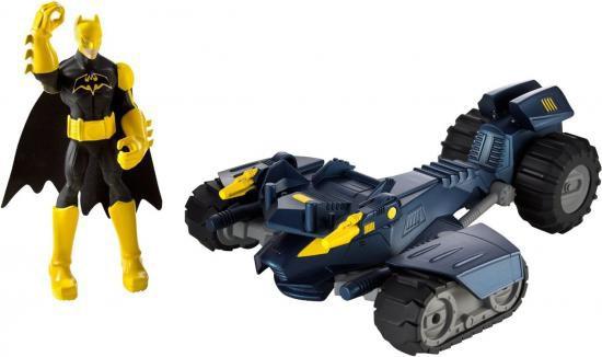 Batman Power Attack Combat Kick Bat-Tank Vehicle
