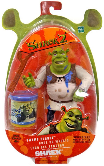 Shrek 2 Shrek Action Figure [Swamp Sludge]