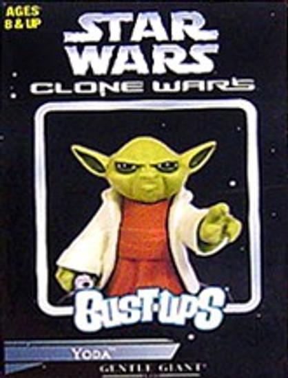 Star Wars The Clone Wars Bust-Ups Series 7 Yoda Micro Bust