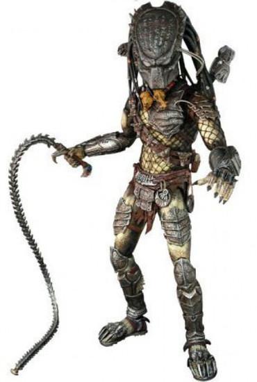 Alien vs Predator Requiem Movie Masterpiece Predator Collectible Figure [Wolf]
